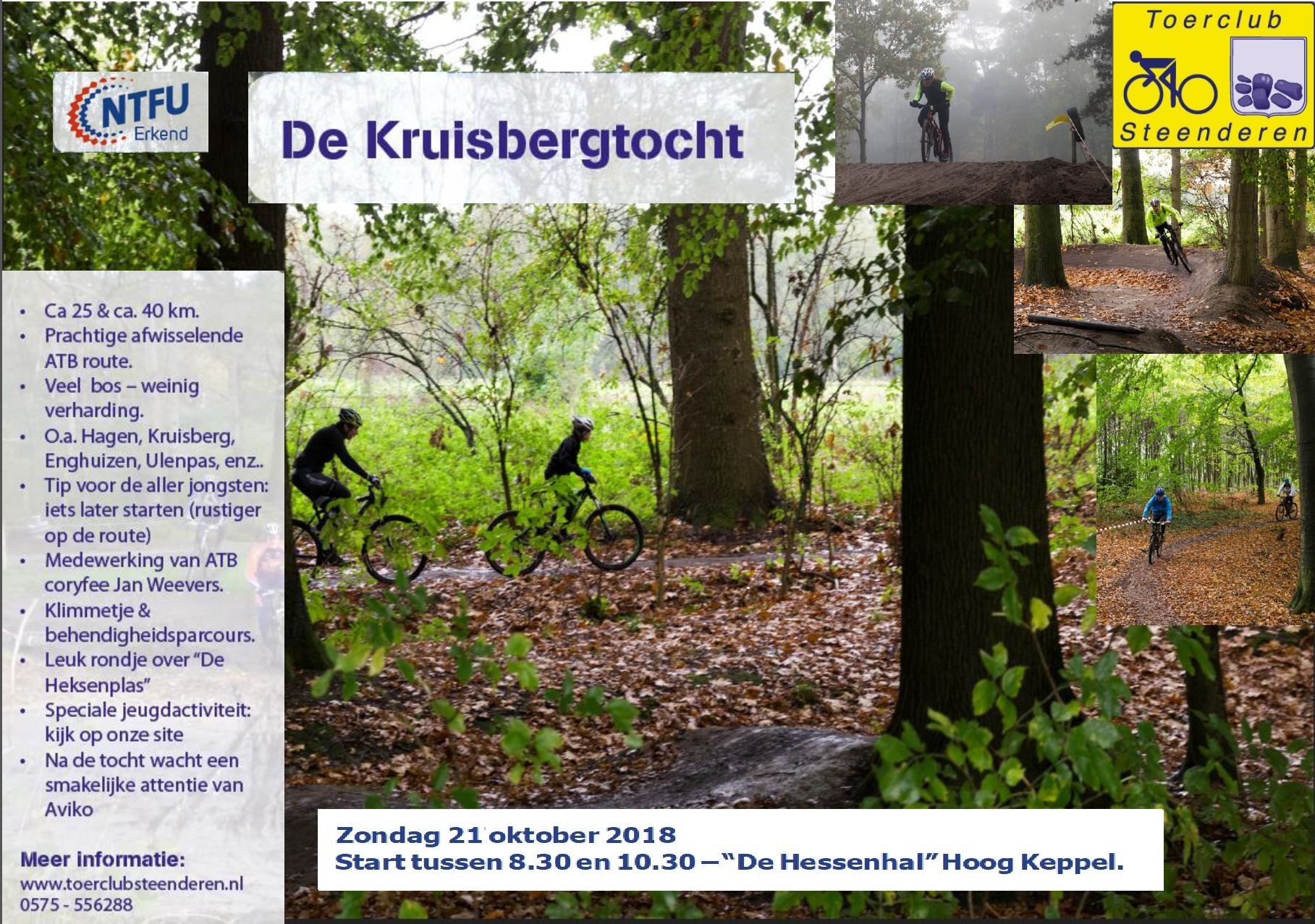 poster Kruisbergtocht 2018 v2